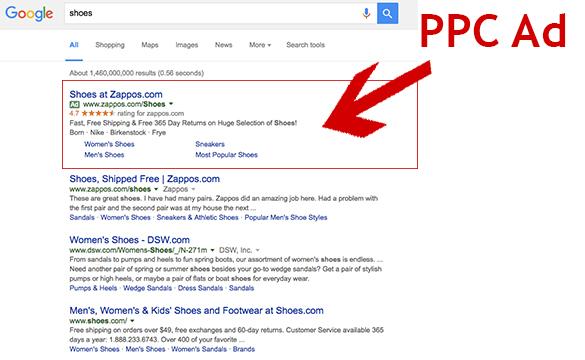 ppc ad screenshot
