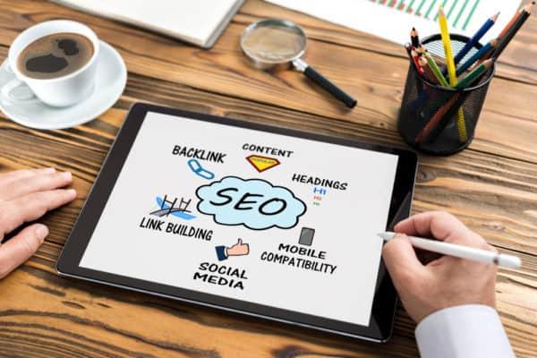 SEO online marketing tactics