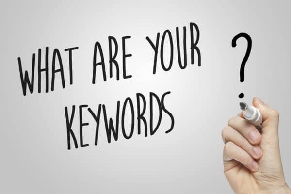 Select strategic keywords when doing seo for videos