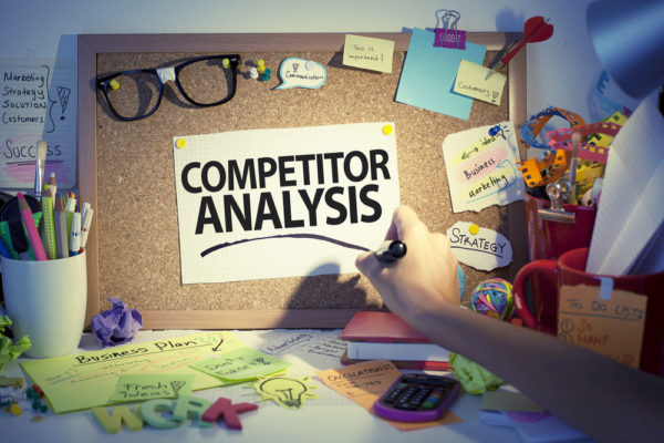 Compare your page authority with your competitors