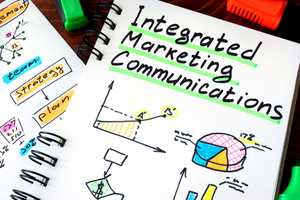 Integrated Marketing Communications with graphics